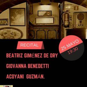 Nueva Sesión de Poesía en la cripta